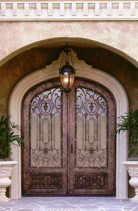 wrought iron doors design for exterior door whomestudio