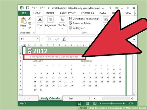 how do you make a calendar in excel how to create a calendar in microsoft excel with pictures