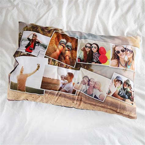 Pillow Custom Design 10 custom pillow cases with photo or collage design your own