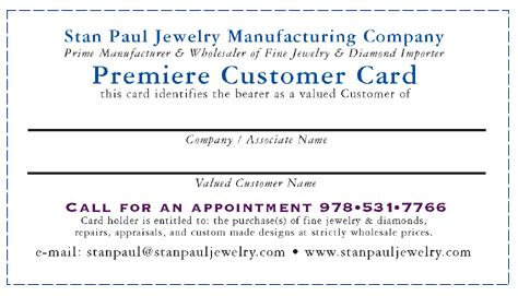Origami Owl Customer Care - stan paul jewelry premiere customer card