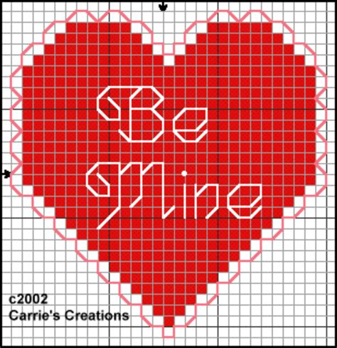 Valentines Day Card Template Stitch by Free S Day Counted Cross Stitch Patterns