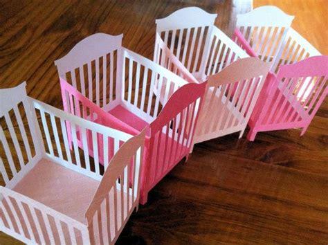 Handmade Nursery Decor Ideas Baby Shower Favors 3 D Crib Decorations Unique Handmade Centerpiece Baby Decor Custom