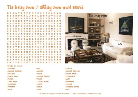 word for living room 28 is livingroom one word living room vocabulary for learning living room