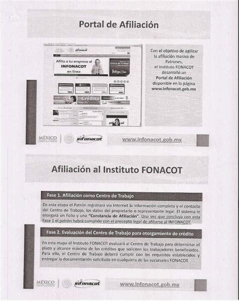 Afiliacion De La Empresa O Centro De Trabajo Al Infonacot | afiliacion de la empresa o centro de trabajo al infonacot