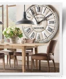 Large clock clock and dining rooms on pinterest