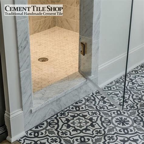 mosaic bathroom floor tile ideas cement tile shop handmade cement tile amalia black
