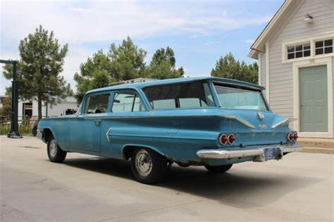 1960 chevrolet brookwood 2 door wagon 348 big block