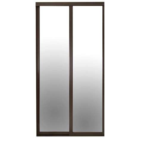 contractors wardrobe 84 in x 81 in serenity mirror