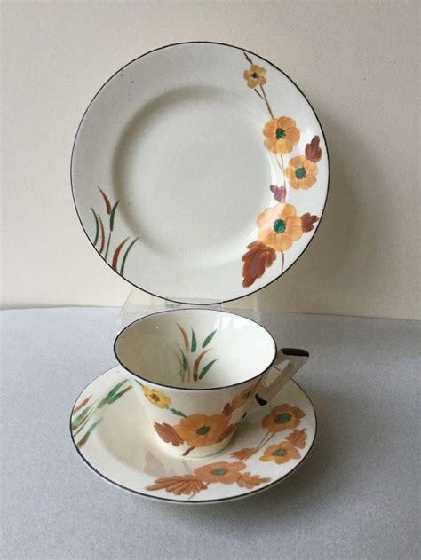 burleigh pattern numbers 484 best tea cups trios burleigh ware art deco images