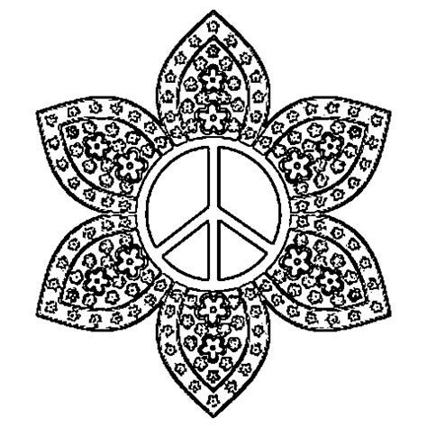 Peace Mandala Coloring Pages coloring book pages 2012filed peace sign coloring pages comment