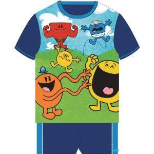 Childrens Duvet Tog Guide Mr Men Pyjamas