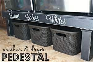 pedestal for washer dryer diy washer dryer pedestal