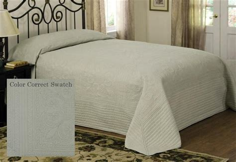 oversized king coverlet country french sage oversized king bedspread coverlet