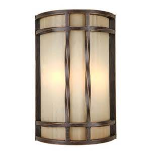 Candelabra Sconce Shop Portfolio 8 In W 2 Light Antique Bronze Pocket Wall
