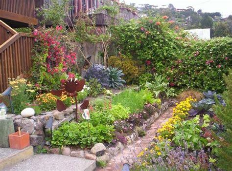 beautiful edible garden on the farm