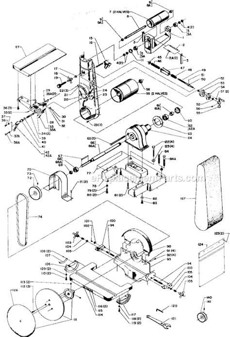 Delta 31 710 Parts List And Diagram Type 1