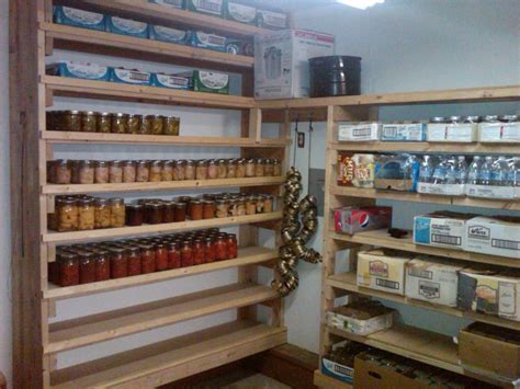 Canned Shelf by Wood Pantry And Canning Storage By Enchantedacresdesign
