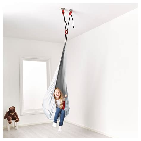 ikea ekorre swing ekorre hanging seat with air element silver colour ikea