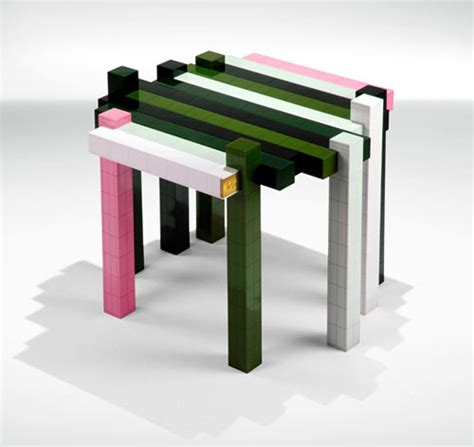 Design Milk Lego Table | diy lego histogram table from nucleo design milk