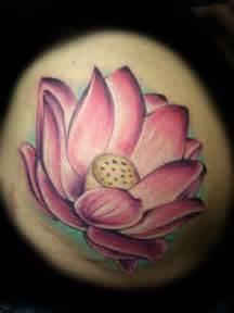 Realistic Lotus Lotus Tattoos And Designs Page 17