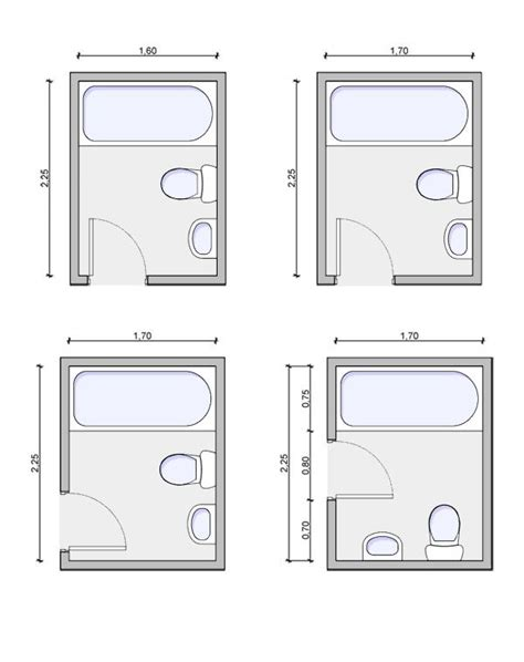 Floor Plans For Bathrooms the 25 best small bathroom layout ideas on pinterest