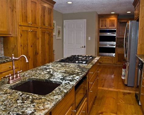 knotty pine cabinets granite counter top traditional furniture inspiring eclectic kitchen with charming knotty