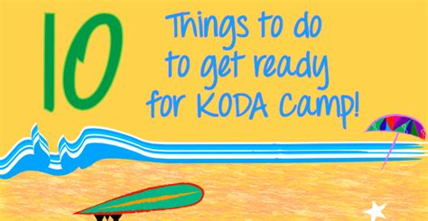 10 Things To Do To Get Ready For by 10 Things To Do To Get Ready For Koda C Kodaheart