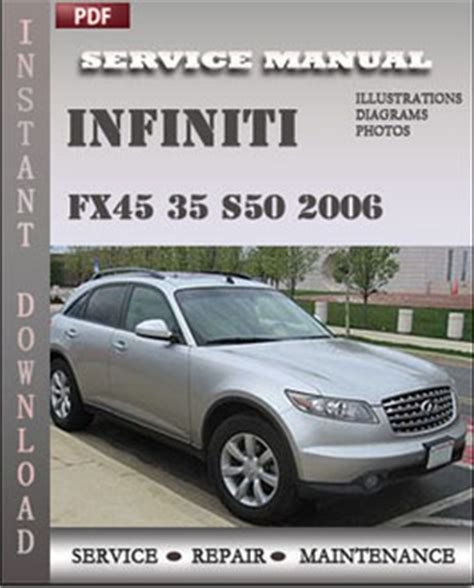service manual download car manuals pdf free 2006 chrysler crossfire roadster security system infiniti fx45 35 s50 2006 service manual pdf download servicerepairmanualdownload com