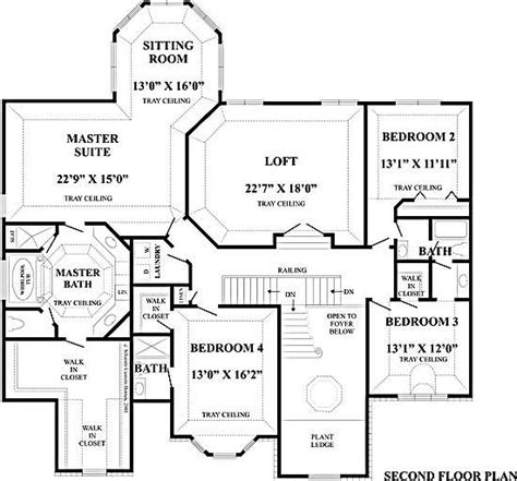 monticello second floor plan home designs monticello 2nd floor silvestri custom homes