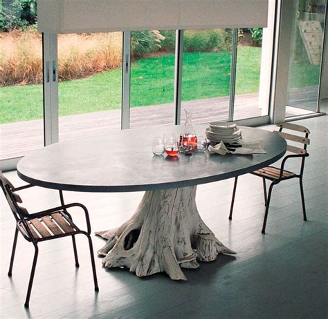 tree trunk dining table tree trunk tables tree trunk table
