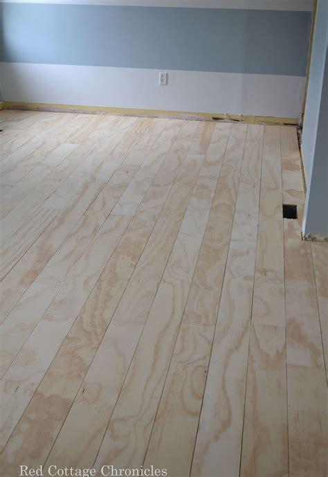 wood floor plywood redo hometalk