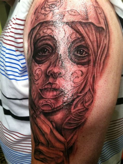 homie tattoo designs a day of the dead i tatted on the homie