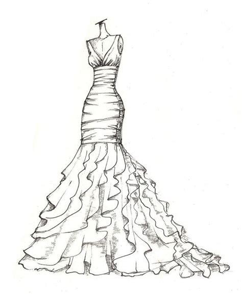 Kleider Design Vorlage Die Besten 17 Ideen Zu Kleider Zeichnen Auf Modedesign Skizzen Kleidung Zeichnen