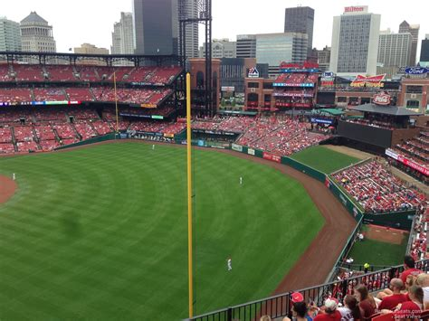 section 154 busch stadium view from seats busch stadium bing images