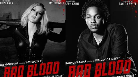 membuat poster bad blood new taylor swift bad blood posters featuring kendrick