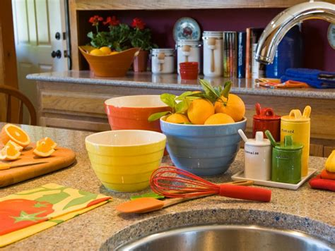 Colorful Kitchen Accessories by Color Palettes Made Easy Hgtv