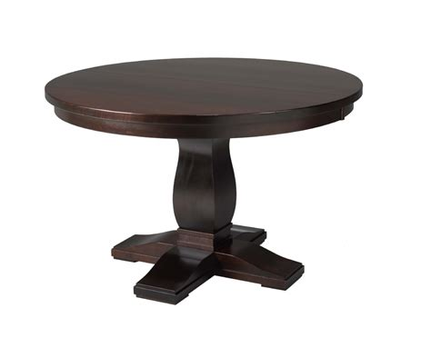 Mennonite Furniture by Valencia Single Pedestal Table Lloyd S Mennonite