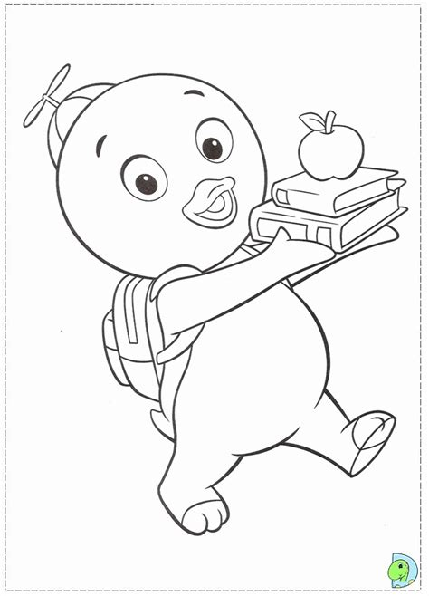 the backyardigans coloring page coloring home