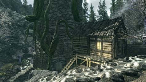 skyrim house mods the witchs house mod and tower at skyrim nexus mods and community