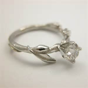 leaf engagement ring s vine leaf engagement ring wang jewelry