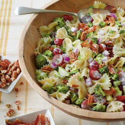 salad with pasta summer pasta salads myrecipes