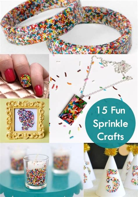 and craft crafting with sprinkles 15 ideas diycandy