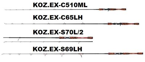 Rod Smith Koz Ex S69lh smith ltd koz expedition rod series s tackle