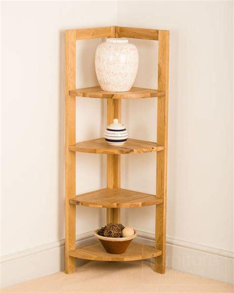 corner shelf unit oak woodworking projects plans