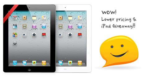 Ipad 2 Giveaway - new lower pricing and ipad giveaway themify