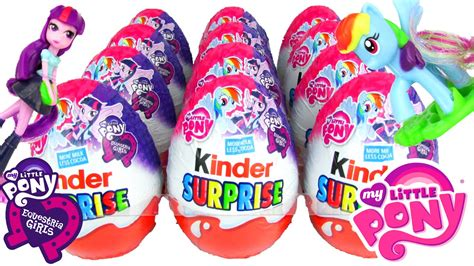 Kinder My Pony kinder my pony equestria 2016 eggs