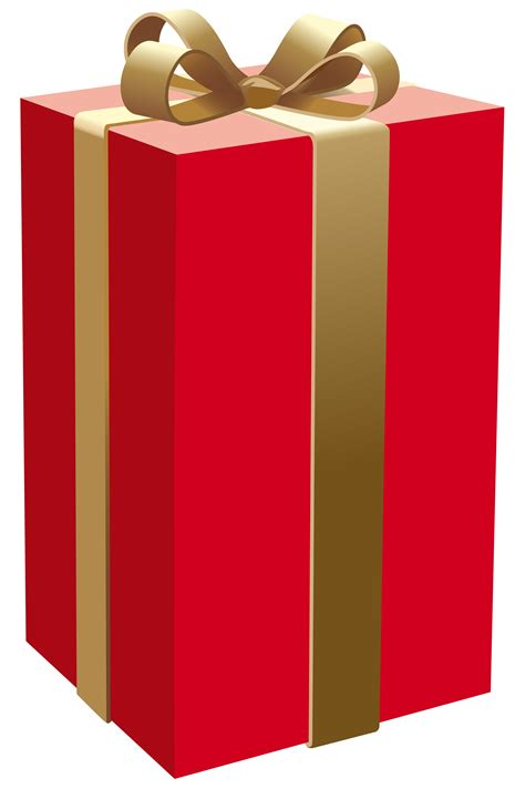 Red Gift Box PNG Clipart   Best WEB Clipart