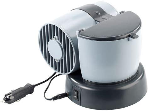 Mini Klimaanlage Auto by Lescars Mobiler Mini Luftk 252 Hler 12v 230v F 252 R Auto