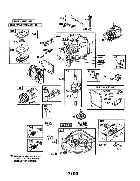 briggs and stratton engine diagram free fantastic briggs and stratton engine schematic pictures