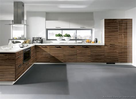 modern wood kitchen design dream kitchens pinterest kitchen idea of the day modern dark wood kitchens